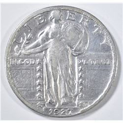 1927-S STANDING LIBERTY QUARTER  VF+
