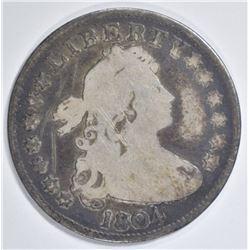 1804 BUST QUARTER GOOD