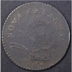 1787 NEW JERSEY CENT  VF