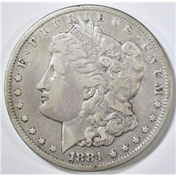 1881-CC MORGAN DOLLAR VF