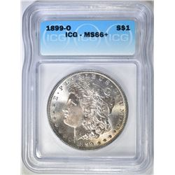 1899-O MORGAN DOLLAR  ICG MS-66+