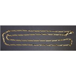 "21"" LONG 14K GOLD CHAIN"