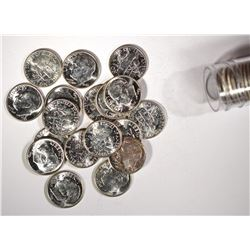BU ROLL OF 1949 ROOSEVELT DIMES