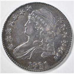 1821 BUST HALF DOLLAR BU
