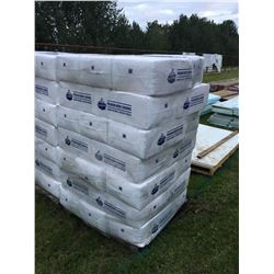 Skid Of Bags Of Wood Shavings / Bedding, 3 Cubic Feet Each Bag