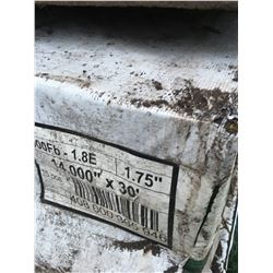 "Skid Of 14"" by 30' Laminated Poles/Beams (15)"