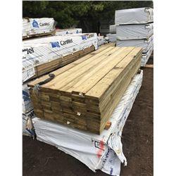 Skid Of 2x8x10' Pressure Treated Boards (84/Skid)