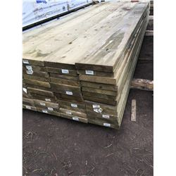 Skid Of 2x10x12' Pressure Treated Boards (60/Skid)