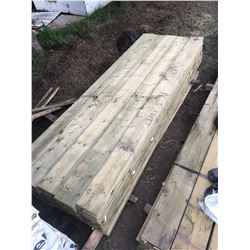 Skid Of 2x10x12' Pressure Treated Boards (60/Skid)