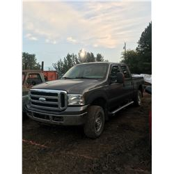 2007 Ford F-250, Gas, Quad-cab, recent work order, 4x4, 189,565 kms