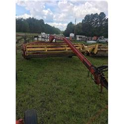114 New Holland 12' Hay-Bine W/ Feed Auger, Hydro Swing, Good Rubber and 540 PTO