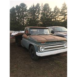 1964 Chevy 30 1 ton w/ deck & hoist, 4 speed, gas, new rims, very good tires, very body shape,  292