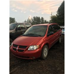 2002 Dodge Grand Caravan, 7 passenger, mechanically sound, has 274,456 km