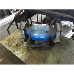 "BLUE POWER FIST 6"" DUAL BENCH GRINDER"