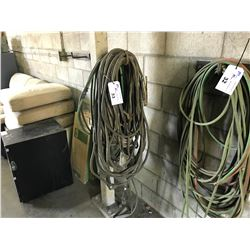 ASSORTED OXY / ACETYLENE HOSE, WELDING CABLES & STINGER