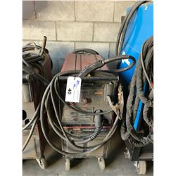 LINCOLN WIREMATIC 255 MOBILE WELDER WITH STINGER & CABLES