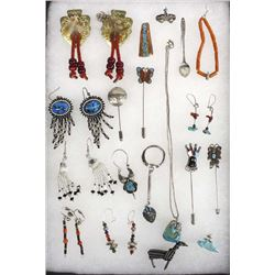 Collection of Jewelry, Mostly Native American
