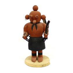 Hopi Double Sided Mudhead Kachina