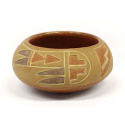 Vintage Santa Clara Pottery Bowl