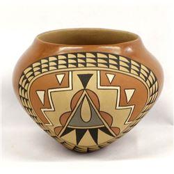 Large Jemez Pottery Bowl by Theresa Tsosie