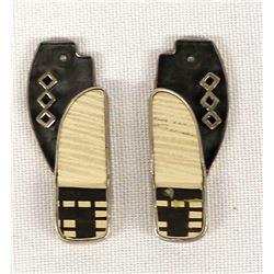 Mata Ortiz Pottery Sherd Earrings