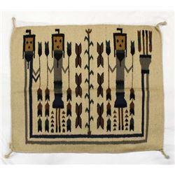 Brand New El Paso Saddle Blanket Yei Rug