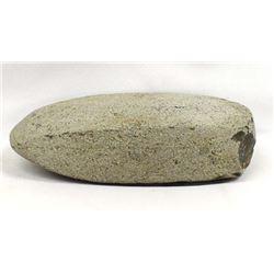 Prehistoric Native American Stone Axe Head