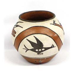 Vintage Native American Zia Pottery Jar