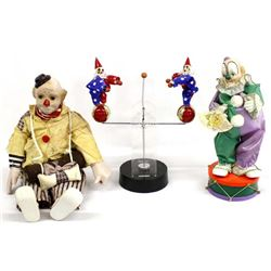 3 Clown Collectibles