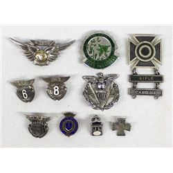 Sterling Silver Medals, Some Military