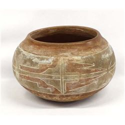 Vintage Native American Jemez Pottery Bowl