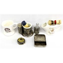 Vintage Men's Shaving Cups & Accessories