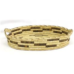 Large Native American Basketry Tray
