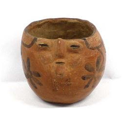 Historic Papago Effigy Pottery Bowl