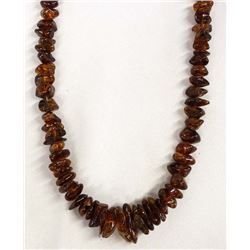 Beautiful Amber Bead Necklace