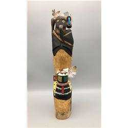 Warrior and Warrior Maiden Hopi Kachina