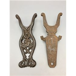 Vintage Cast Iron Boot Jacks