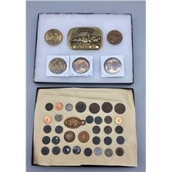 Arizona Tokens and Buckle Displays