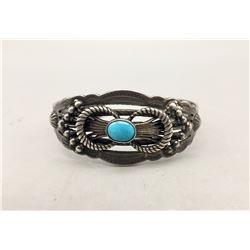 Old School Style Turquoise Bracelet
