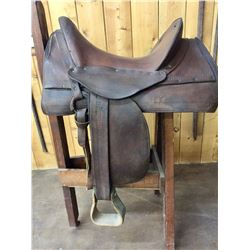 Antique McClellan Style Officers Saddle