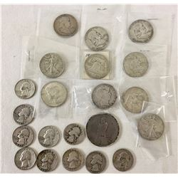Group of Old Silver Coins