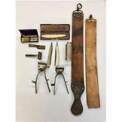 Antique Grooming Items Lot