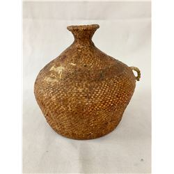 Paiute Tus Water Jar Basket