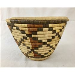 Hopi Coiled Basket - 2nd Mesa