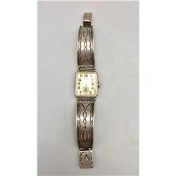Vintage, Sterling Silver Watch Band