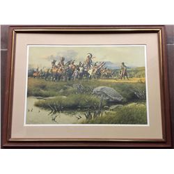 Signed, Frank McCarthy Forbidden Land Print