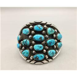 14-Stone Turquoise Bracelet