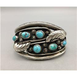 6-Stone Turquoise Bracelet