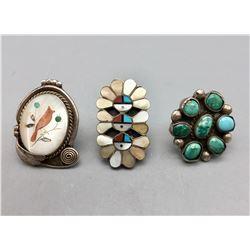 Group of Three Vintage Rings