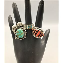3 Vintage Rings